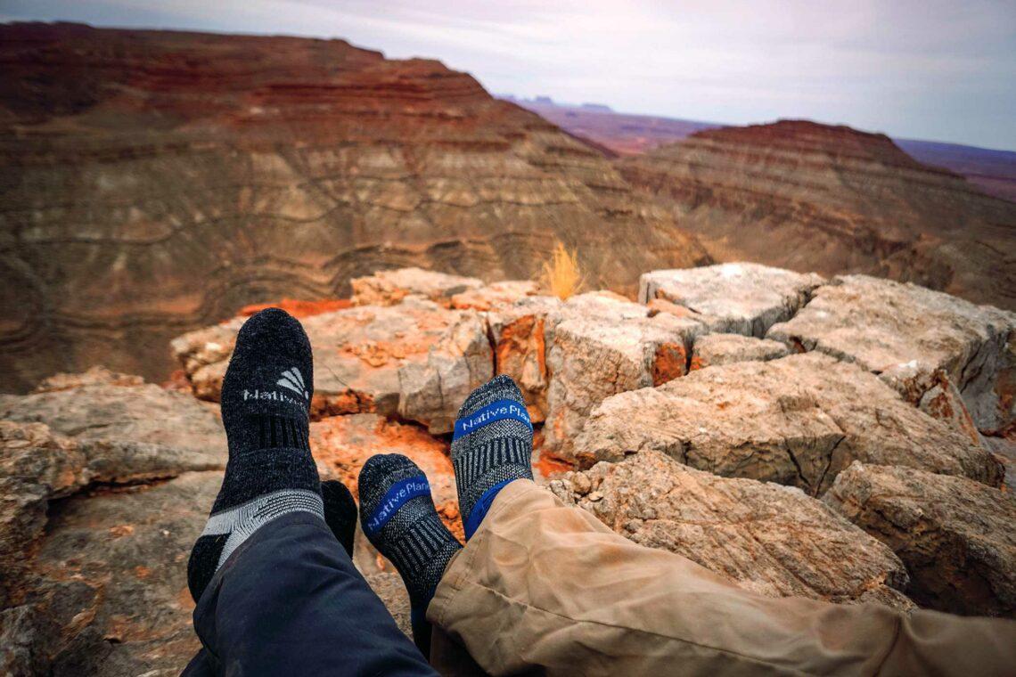 Native Planet Socken Heat und Patrol