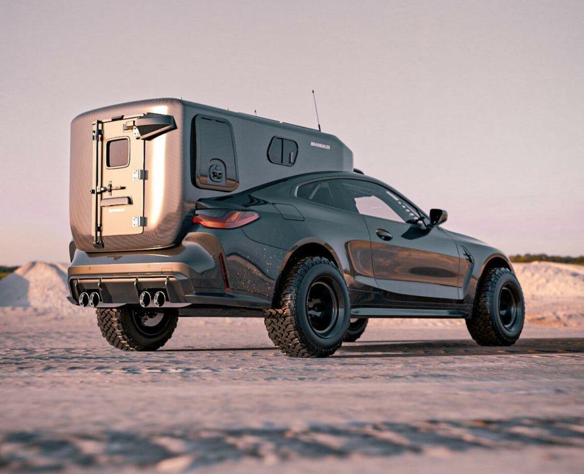 Geht doch: BMW M4 Coupé als Mad-Max-Expeditionsmobil