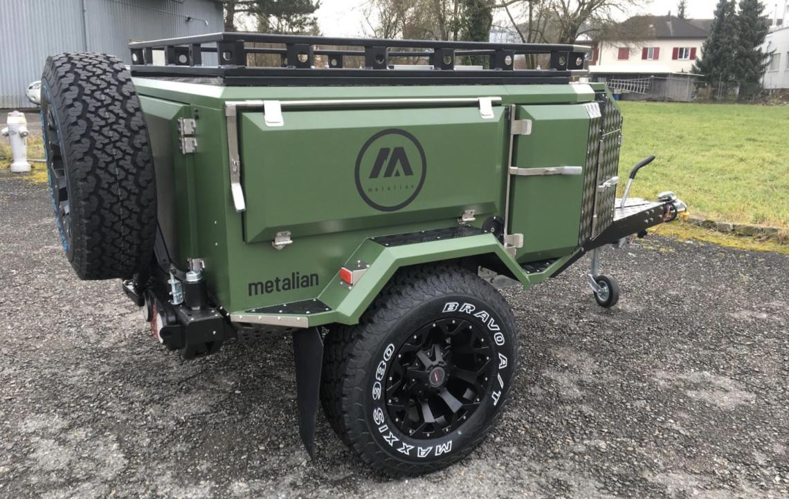 Der Bowhunter Camping-Anhänger von Metalian: leicht, kompakt, minimalistisch