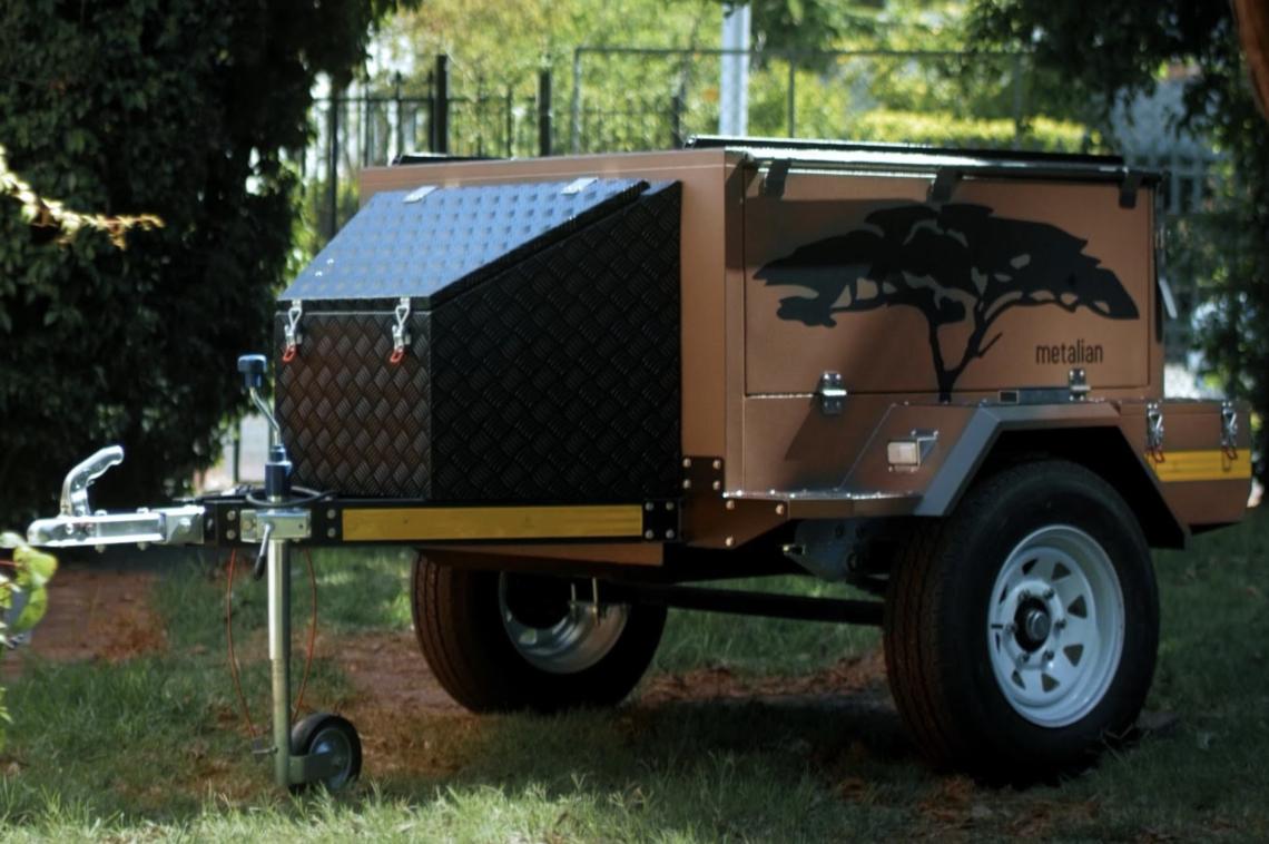 Der GENIE Camping-Anhänger von Metalian: the new kid on the block