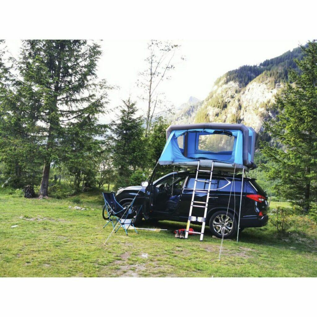 GT-Roof Mini – das kompakteste Dachzelt der Welt