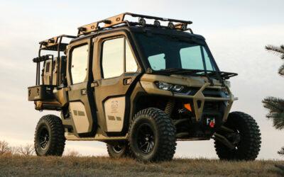 Can-Am Defender Max Limited UTV als Jagdfahrzeug