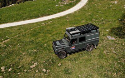 zu verkaufen: Land Rover Defender 110 SW Td4 voll ausgestattet & reisefertig