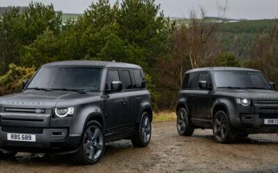 Land Rover Defender mit acht Zylindern