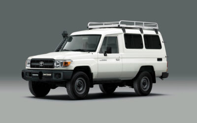Toyota Land Cruiser 78 ist der erste offizielle Impfstofftransporter