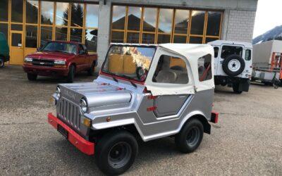 Das kleines Offroad-Cabrio der Welt: der Schweizer Diavolino