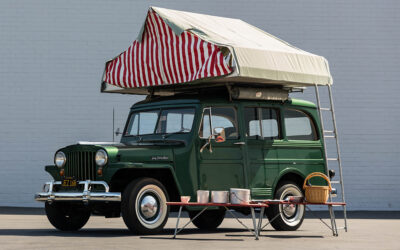 Auktion: 1949 Willys Jeep Wagon Camper