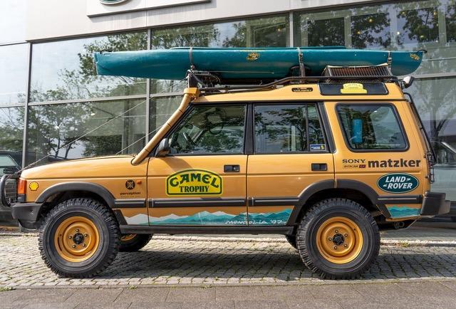 Land Rover Discovery 1 2.5 TDI 300 Camel Trophy Teilnehmerfahrzeug