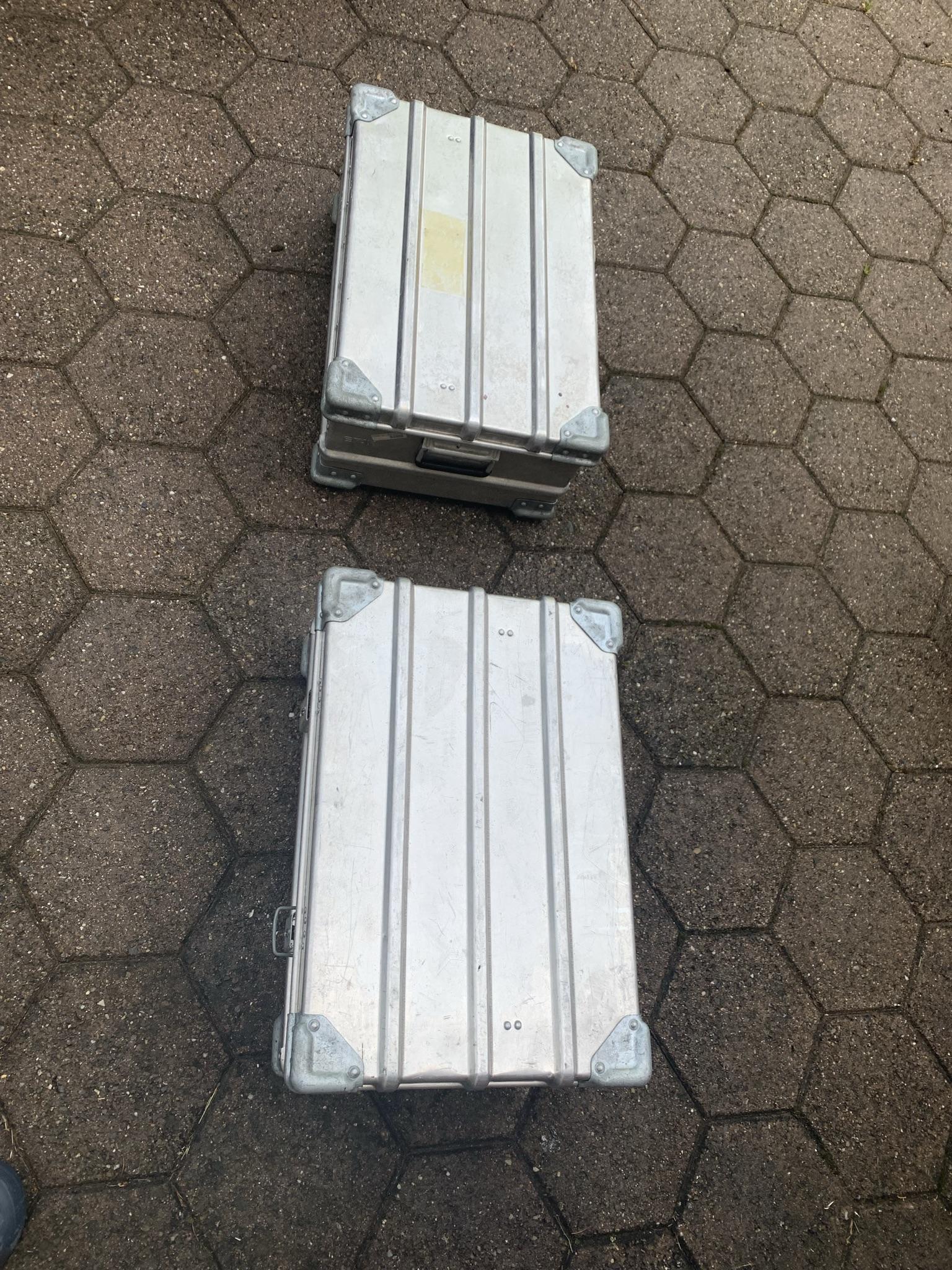 Alukisten (swissmilitary), 2Stck. 60x40x26cm