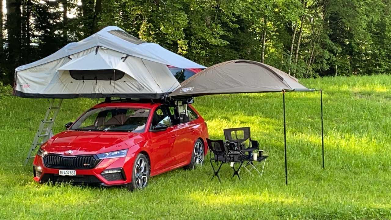 gebrauchtes Dachzelt: Campwerk Adventure 140 – 2 Personen