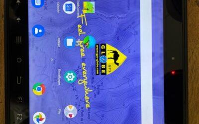 GPS Globe-Pack Tablet X10