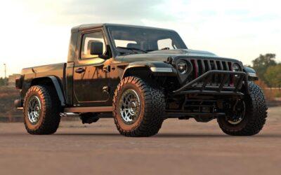 Jeep Gladiator als SingleCab Pick-up