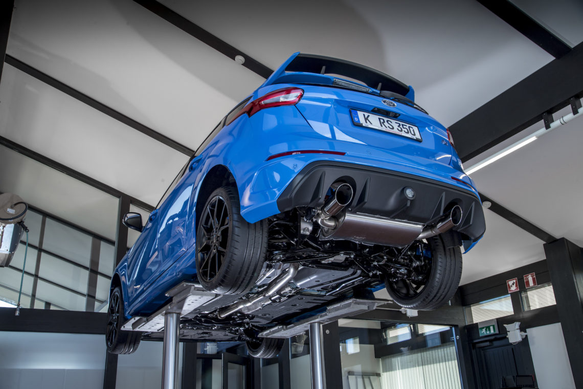 Der Ford Performance Allradantrieb im Ford Focus RS